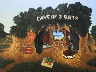 Steve Galloway, 'Cave of Three Bats (and the Ray of Hope)', 2008