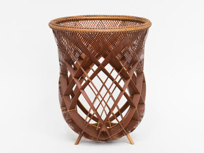 Yamaguchi Ryuun, 'Bamboo Object', ca. 1980
