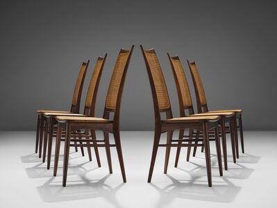 Niels Koefoed, 'Rare Niels Koefoed Set of Six Rosewood Dining Chairs', ca. 1960