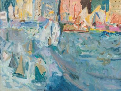 Zygmund Jankowski, 'City Harbor Landscape', n.d.