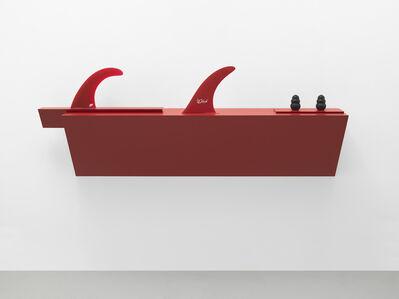Haim Steinbach, 'Untitled (2 kongs, 2 fins)', 2017