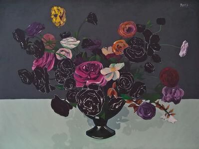 Kevin Morris, 'Flowers in Black ', 2018
