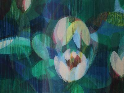 Katherine Sandoz, 'two lilies', 2019