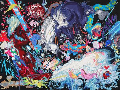 Amano Yoshitaka, 'When Sleeping Beauty Wakes', 2018