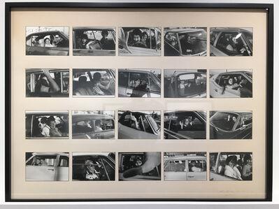 Mike Mandel, 'People in Cars', 1970-1973