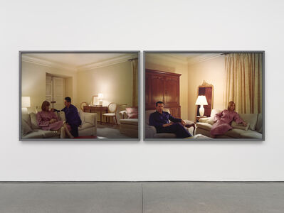 Jeff Wall, 'Pair of interiors', 2018