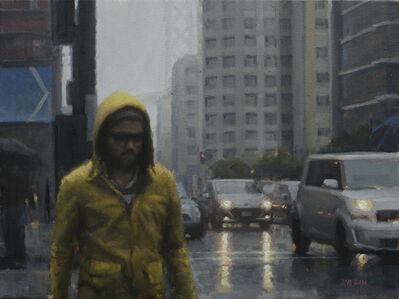 Joevic Yeban, 'Yellow Raincoat Study', 2015