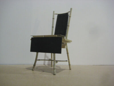 Graham Hudson, 'Black to Black chair', 2009