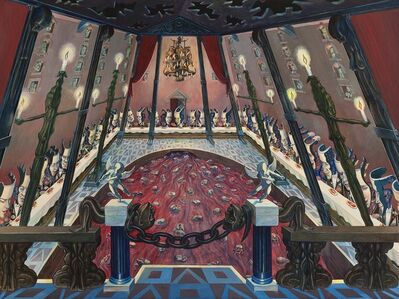 Irving Norman, 'The Palace (aka The Banquet)', 1948