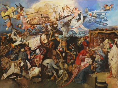 Wolfe von Lenkiewicz, 'The Fall of the Rebel Angels', 2016