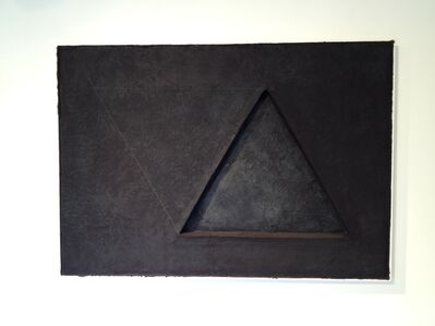 Shoichi Ida, 'Two Triangles No. 5', 1982
