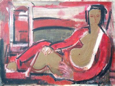 Henryk Berlewi, ' Reclining Figure', 1894-1964
