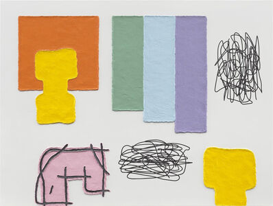 Jonathan Lasker, 'The Rules of Personal Attachment', 2017