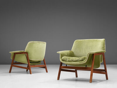 Gianfranco Frattini, 'Lounge Chairs Model '849' ', 1956