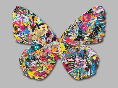 Aiiroh, 'Street Lepidoptera', 2016