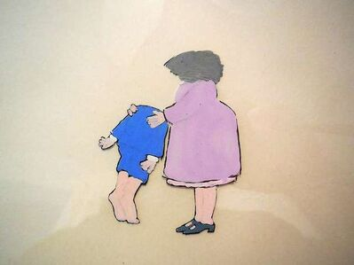 "Maurice Sendak, 'original animation cel from PIERRE, ""I DONT CARE"" (CBS 1970s)', 1970-1979"