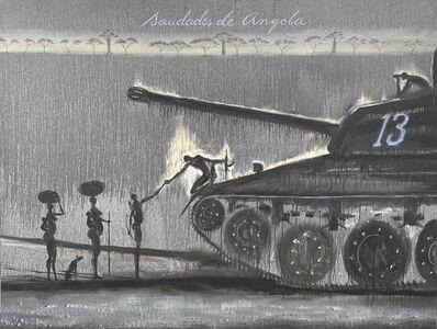 José Bedia, 'Saudades de Angola', 2017