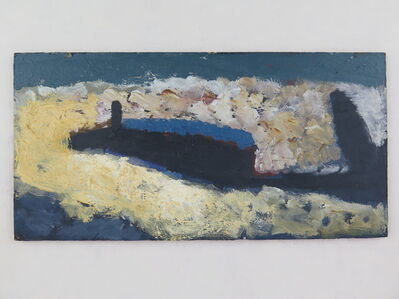 Alfred Stockham, 'Boat and Breakwater', 1982
