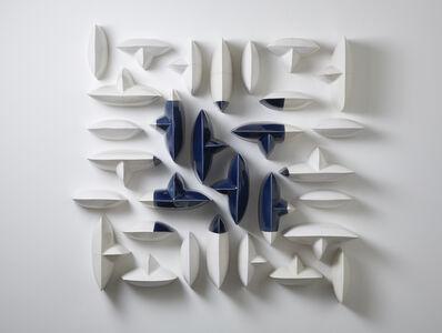 Maren Kloppmann, 'Wall Pillows Blue Square I', 2016
