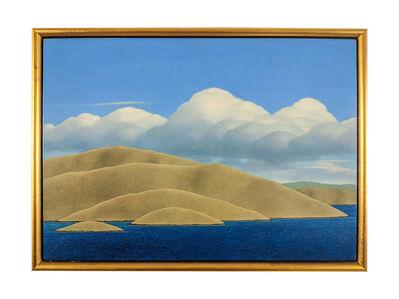Brent Wong, 'Headland - Clouds', 1985