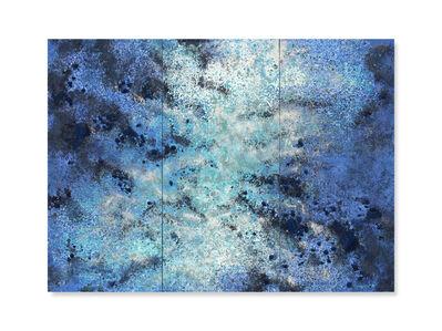 Yasmina Alaoui, 'Blue and white Trio #2', 2017