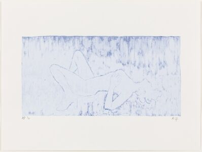 Angus Fairhurst, 'Everything but the Outline Whited-out', 2006