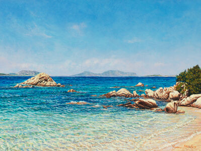 Yvonne Melchers, 'A Cala Ghjlgolu / Mediterranean Blues (Sardinia)', 2010