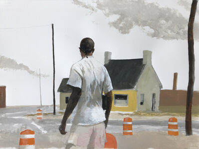 Bo Bartlett, 'MillTown (Where Talbotton Road Turns into Warm Springs Road Near Buck Ice)', 2019