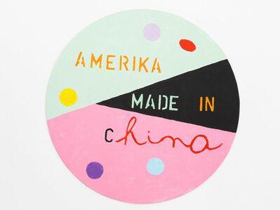 Mladen Stilinovic, 'America made in China', 2015
