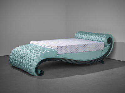 James Ward, 'Important and unique bed, designed for the Map Room, Monkton House, West Sussex', circa 1935