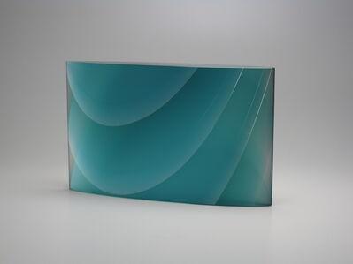 Yukako Kojima, 'Layers of Light - Blue Water'