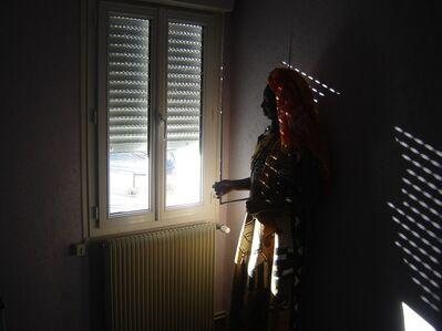Mohamed Camara, 'Maliens de Paris, (la femme, les ombres)', 2007