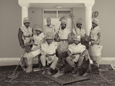 Simon Norfolk, 'A De-mining Team From The Mine Detection Centre In Kabul ', 2010