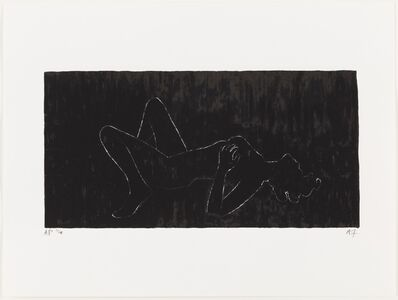 Angus Fairhurst, 'Everything but the Outline Blacked-in', 2006