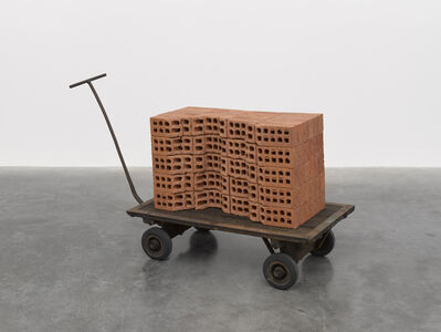 Mona Hatoum, 'A Pile of Bricks', 2019