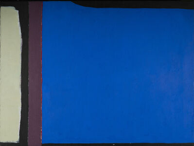 Ruth Eckstein, 'Black Fields VI', 1980