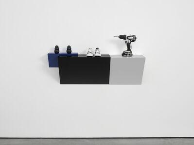 Haim Steinbach, 'Untitled (2 kongs, sneakers, drill)', 2015