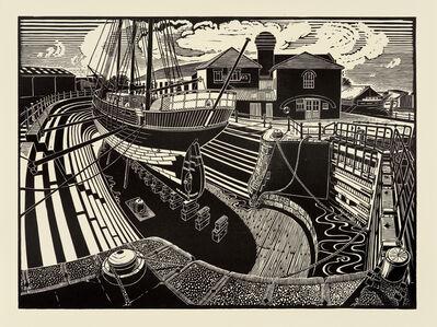 James Dodds, 'T Nielsen Shipyard, Gloucester Docks'