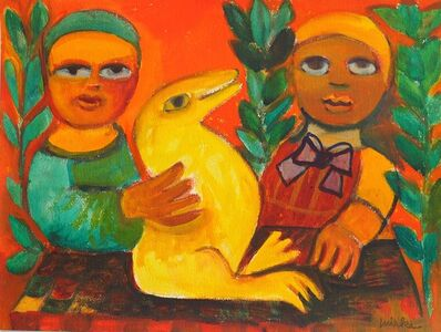 Mirka Mora, 'We Like To Play In The Garden', 2008
