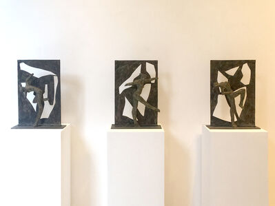 Ivor Abrahams, 'Triptych Screen A-B-C', 1988
