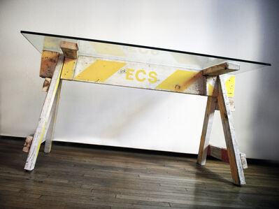 Carlo Sampietro, 'Emergency table', 2009