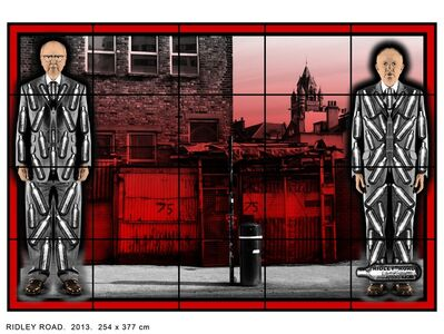Gilbert and George, 'RIDLEY ROAD', 2013