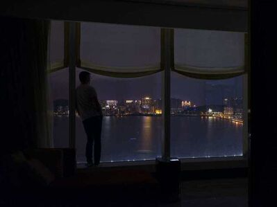 Nuno Cera, 'Hora Certa #12 ( Auto-retrato   Macau - MGM)', 2018