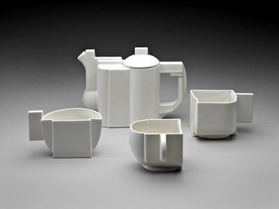 Kasimir Severinovich Malevich, 'Suprematist Tea Service (Limited Edition with signed COA)', 1918-1988