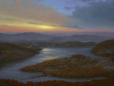Ken Salaz, 'Sunrise Over Iona Island from Bear Mountain, 2019', 2019
