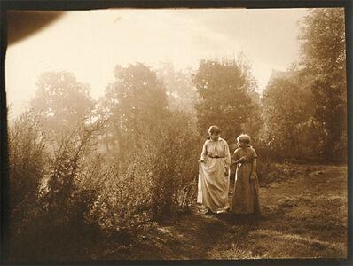 Léonard Misonne, 'Girls on a Stroll', 1920s