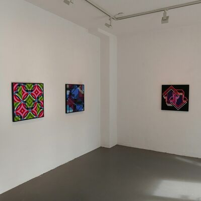 12 Months - Soloshow by ABOVE, installation view