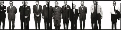 Richard Avedon, 'The Mission Council', 1971