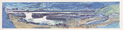 Richard Demarco, 'Tall Ships Passing Cruden Bay', 1991