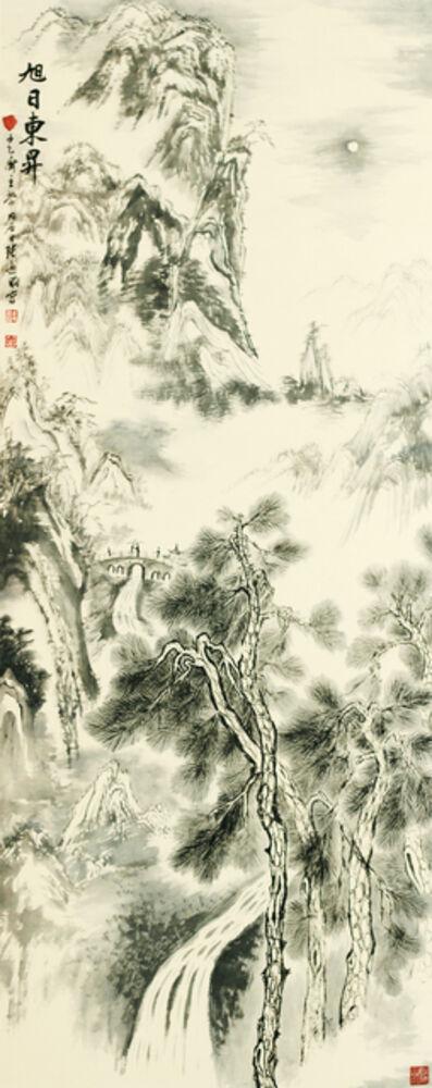 Zhang Yanyun, 'Sun risen in the east in the morning 旭日东升 ', 2012